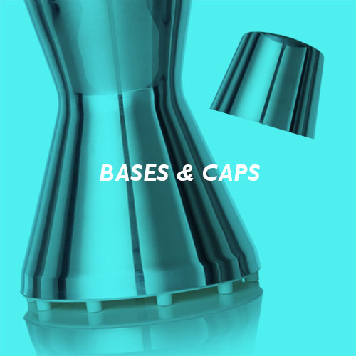 Bases and caps