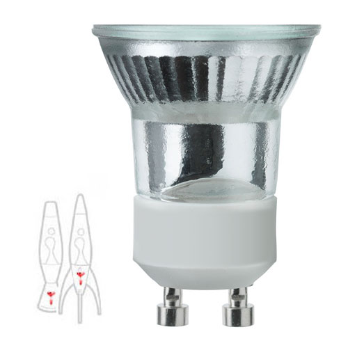 Astrobaby and Telstar Lava Lamp Bulb - GU10 fitting 28W halogen